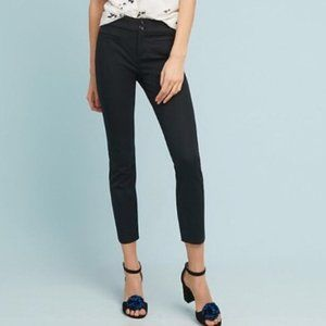 Anthropologie The Essential SLIM Cropped Trousers